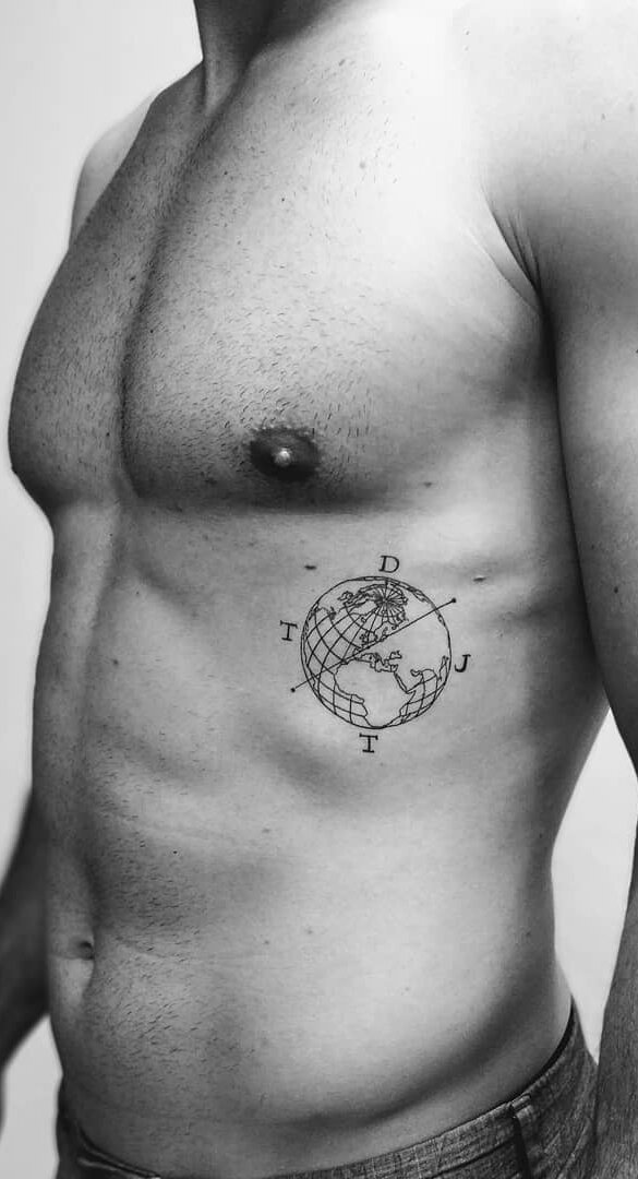 Tattoos rippen frauen 130 Most